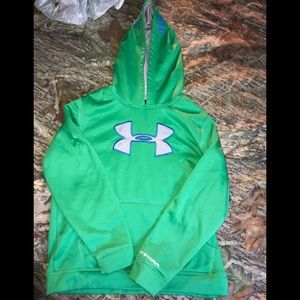 YOUTH- Under Armour storm hoodie